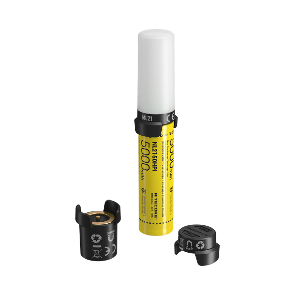 Nitecore Intelligent Battery System NL2150HPi in zwei Asuführungen