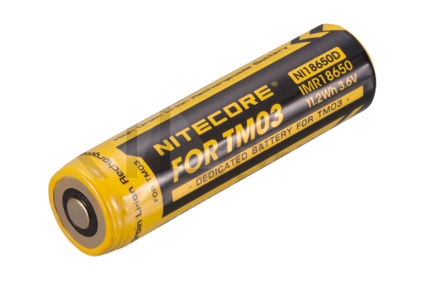 Nitecore Li-Ion Akku NI18650D für TM03