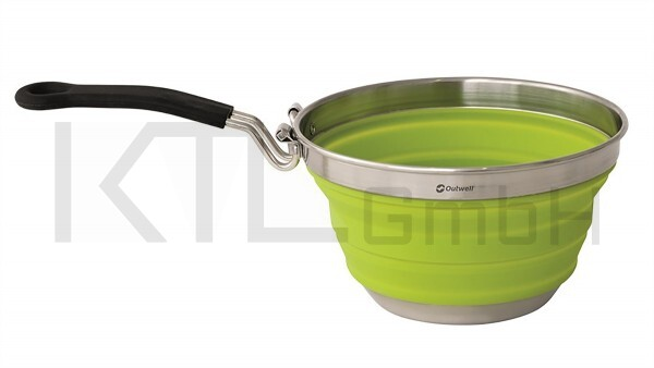 Outwell Collaps Stielkasserolle - lime green