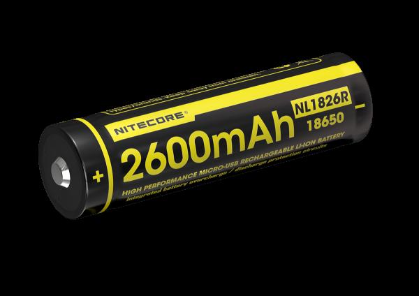 Nitecore Li-Ion Akku Typ 18650 - 2600mAh - NL1826R