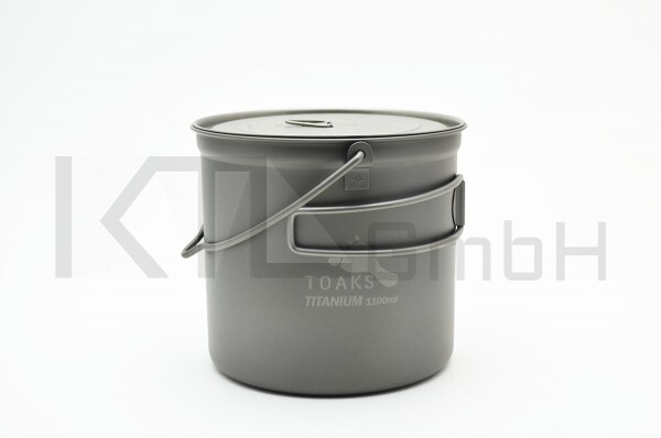 TOAKS Titan 1100ml Pot mit Henkel