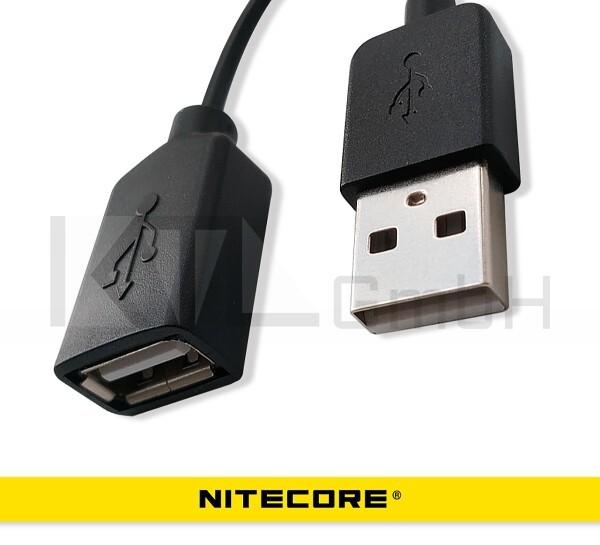 Nitecore USB Verlängerungskabel