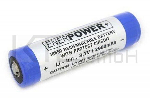 Enerpower + Li-Ion Akku 2900mAh