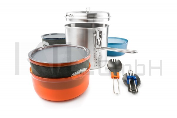 GSI Outdoors Glacier Stainless Dualist II
