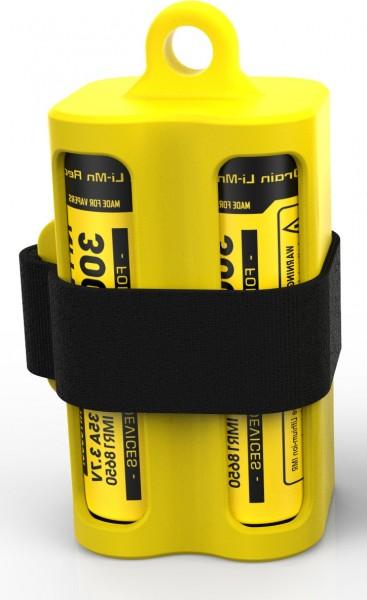 Nitecore Batteriemagazin NBM40 in 4 Farben