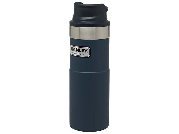 Stanley CLASSIC TRIGGER-ACTION TRAVEL MUG 0,473 l - blau