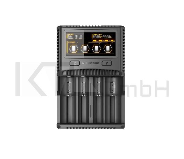 Nitecore SC4 - Schnellladegerät
