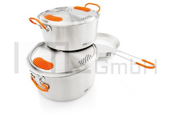 GSI Outdoors Glaccier Stainless Base Camper Medium