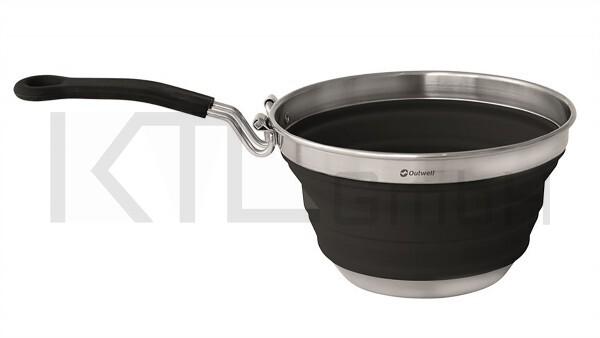 Outwell Collaps Stielkasserolle - schwarz