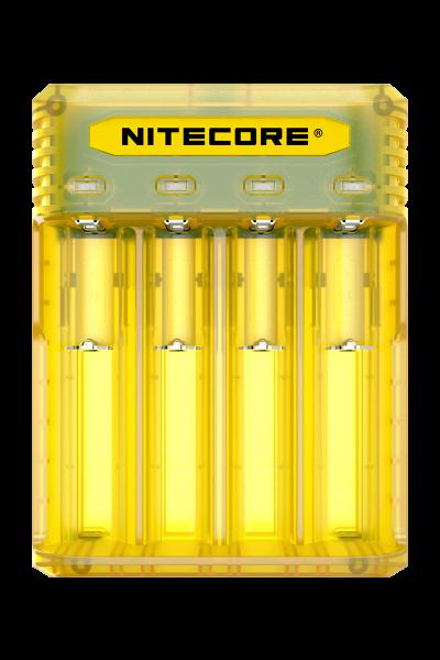Nitecore Q4 Ladegerät für Li-Ion Akkus in 4 Farben