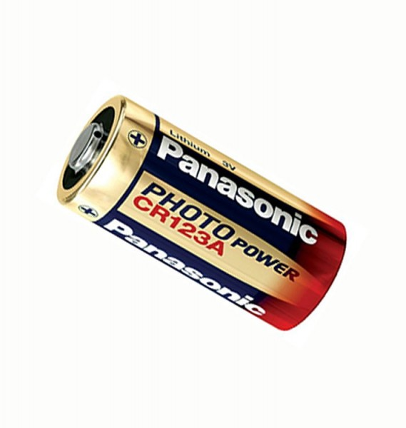 Panasonic CR123A Lithium Batterie