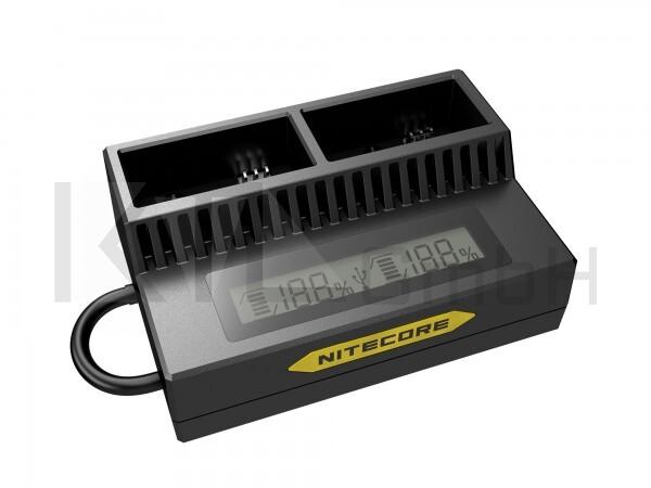 Nitecore USB-Ladegerät UGP3 für GoPro HERO3/3+ Akk