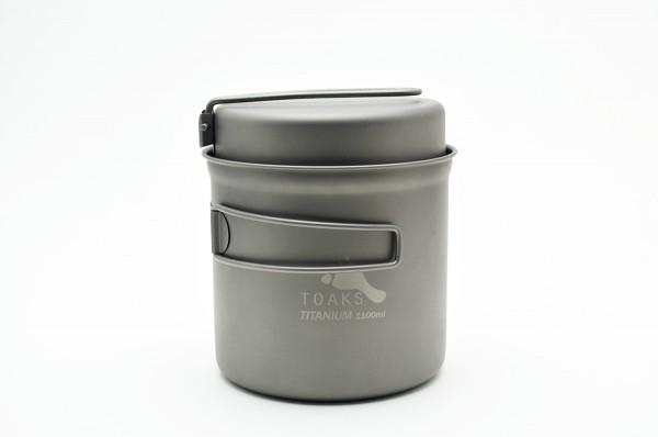 TOAKS Titan 1100ml Pot mit Pfanne