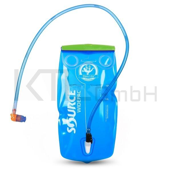 Source Widepac 3 Liter - transparent/blau