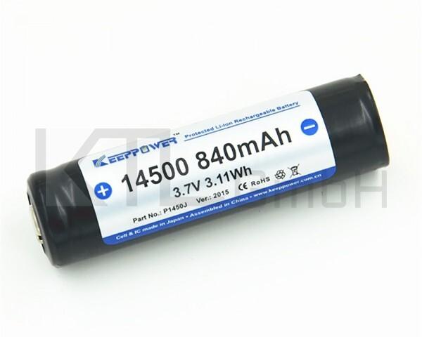 Keeppower 14500 - 840mAh, geschützt
