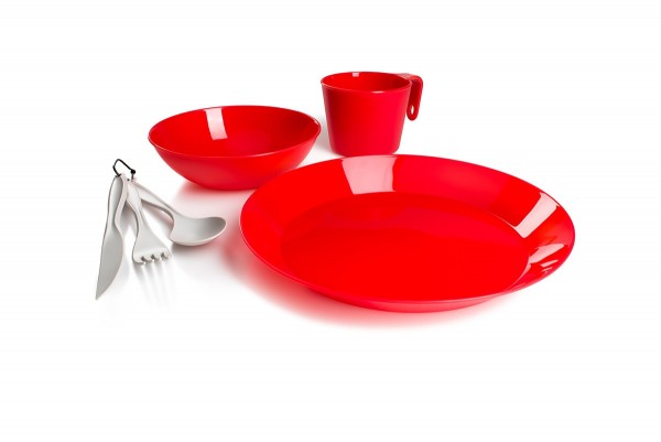 GSI Outdoors Cascadian Table Set für 1 Person in drei Farben