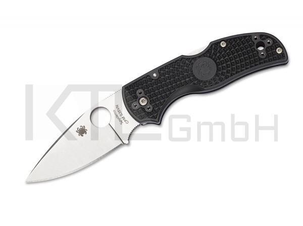 Spyderco Native 5 Black FRN Plain